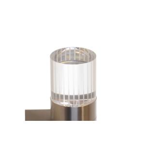 REGAN-K1 inox kinkiet LED 1,2W IP44  A+