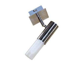 CAROLA-1 satynowy chrom lampa
