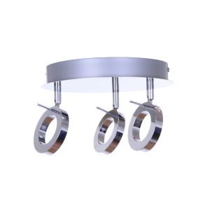 DORIAN-3G LED 15W chrom lampa sufit  A+