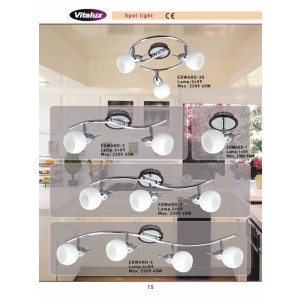 EDWARD-3G chrom lampa