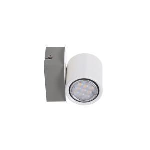 LONDON-1 LED biała lampa kinkiet spot 4,5W