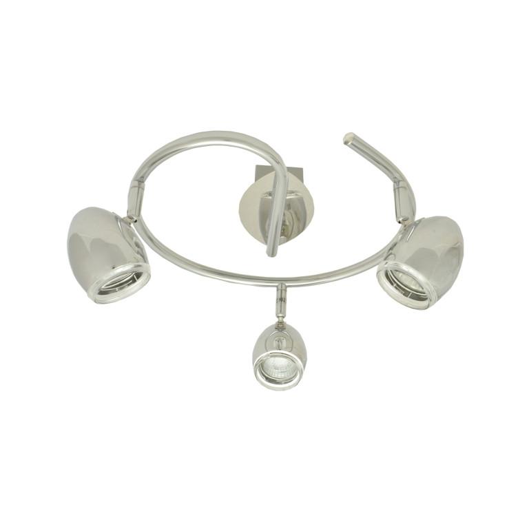MERCURY-3G chrom lampa sufitowa spot klasyk