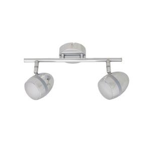 RENNE-2 LED chrom lampa sufitowa spot 6W 3000K