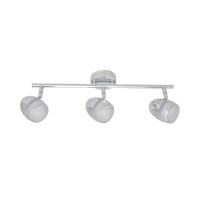RENNE-3 LED chrom lampa sufitowa spot 9W 3000K