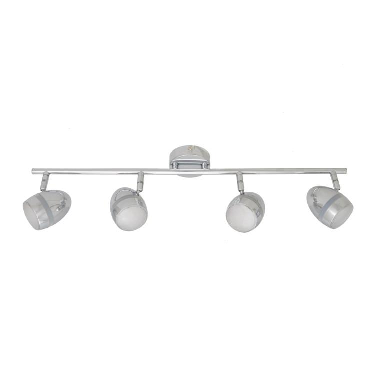 RENNE-4 LED chrom lampa sufitowa spot 12W 3000K
