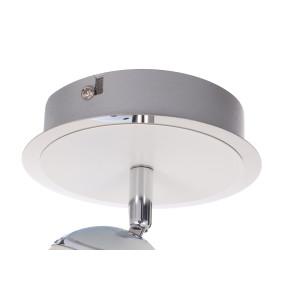 ROB-1 biały+chrom lampa ścienna spot LED 4W