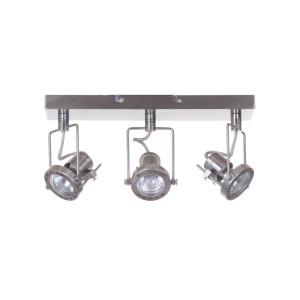 ROBOT-3 satyna loft lampa sufitowa spot 3xGU10