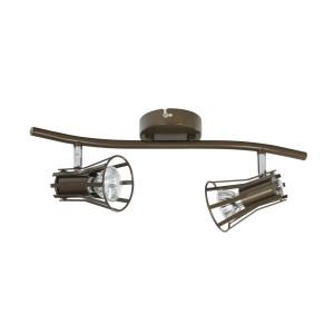 ALVARO-2 khaki lampa sufitowa spot