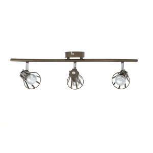 ALVARO-3 khaki lampa sufitowa spot