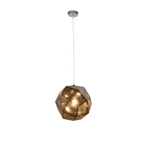 ATILLA modern loft chrom lampa wisząca 1xE27 Hit!