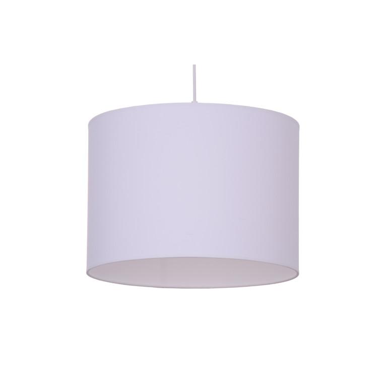 AZZADE-350 white abażur materiał zwis