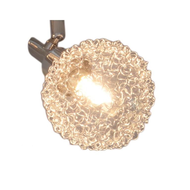 BLACKPOOL-1 chrom lampa ścienna kinkiet spot