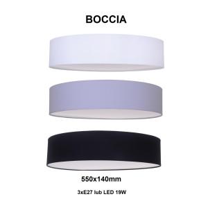 BOCCIA-550 grey abażur plafon