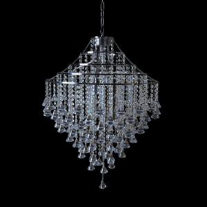 CARACAS 600 chrome lampa zwis 5*E14