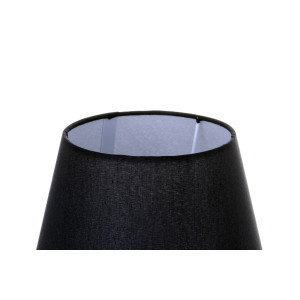 CLETO-BW czarny+chrom lampa stołowa