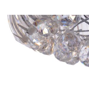 CONO-3 klasyk chrom+akryl lampa wisząca 330mm