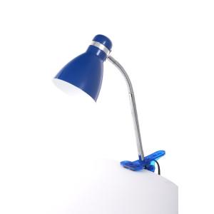 CSL-042 niebieska lampka biurkowa klips