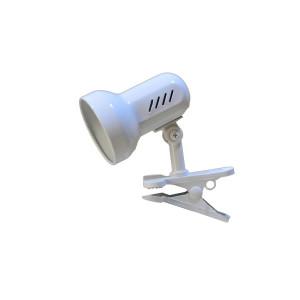 CSL-408 biała lampka biurkowa klips
