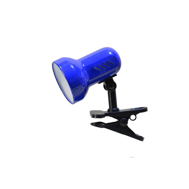 CSL-408 niebieska lampka biurkowa klips