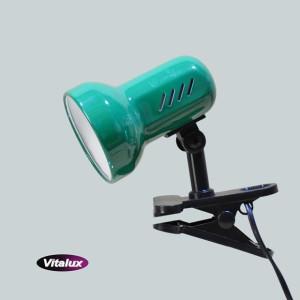 CSL-408 zielona lampka biurkowa klips