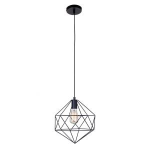 CUBE czarny mat  lampa zwis E27-1*40W