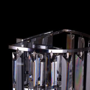 DAFNE 250B chrom lampa kinkiet 2*E14
