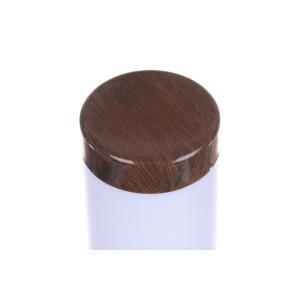 DALLAS-450 drewnopodobna lampa ogrodowa słupek