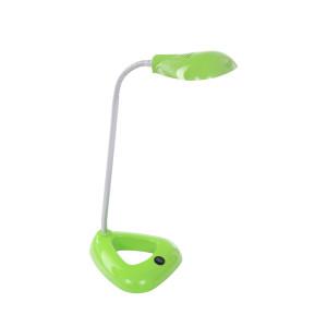 DEL-1128 LED 3W 6500K zielona lampka biurkowa hurt