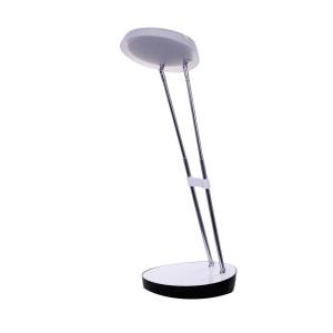 DEL-1308  LED 2,5W 6500K  biała lampka biurkowa