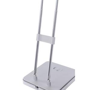 DEL-727 LED 2,5W 6000K srebrna lampa biurkowa