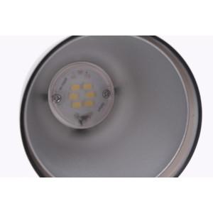 DEL-912B LED 3W 6500K czarna lampa biurkowa