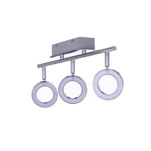 DORIAN-3 LED 15W chrom lampa sufit kinkiet A+