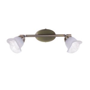 DRAMMEN-2 kinkiet klasyk antyczny mosiądz lampa