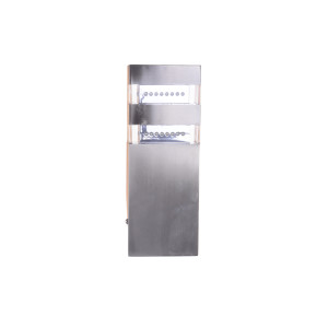 EVAN LED inox kinkiet ściana 2,4W 4000K 230V IP44