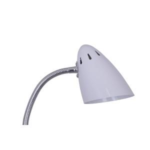 FL-3710F biała lampa stojąca podłogowa
