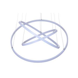 GALASSIA 600 LED biały mat lampa wisząca new style elastic Ø60/50/40cm  30/25/20W  4000K hurt
