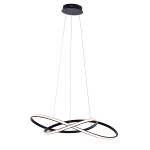 GIACARTA 700 LED czarny mat lampa wisząca new style elastic  Ø70cm  55W  4000K hurt