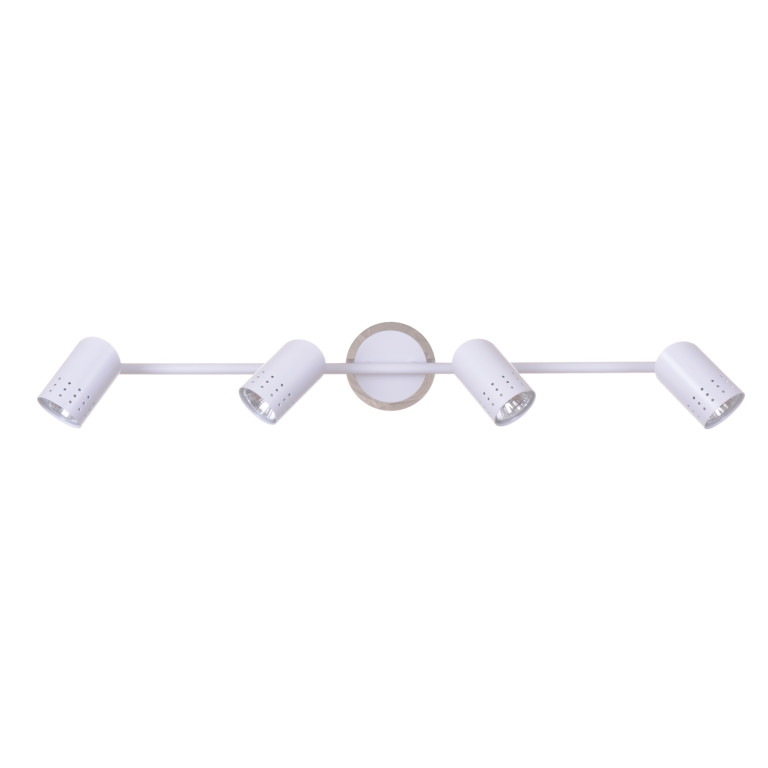 HELIOS-4 biały mat lampa sufitowa spot 4xGU10