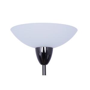 KEVIN black chrome lampa podłogowa E14/E27