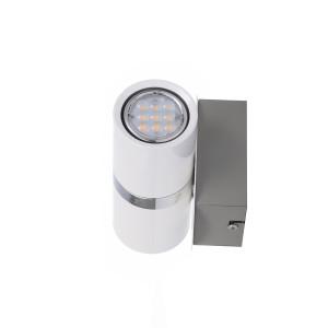 LONDON-2 LED biała lampa kinkiet podwójny 2×4,5W