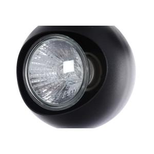 LORENZO-4R  spot czarny+chrom lampa 4xGU10