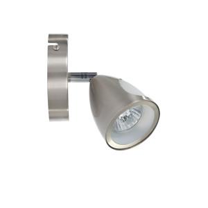 LUKE-1 spot kinkiet satyna lampa z żar.50W