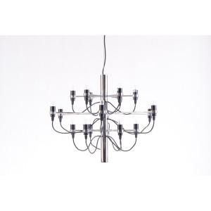 MARITA classic chrom lampa żyrandol 18* E14