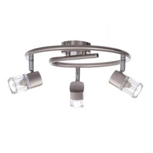MARK-3G satynowy nikiel lampa b/ż