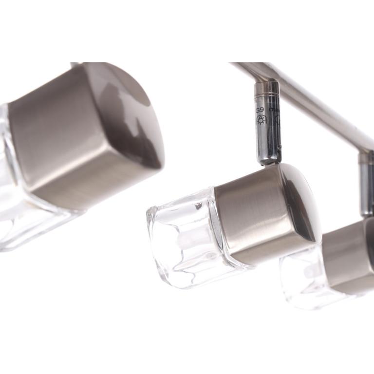 MARK-4 satynowy nikiel lampa