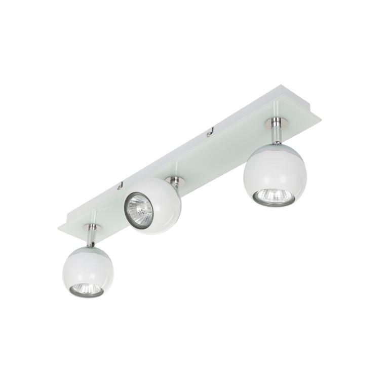 MATT-3R biała+chrom lampa b/ż