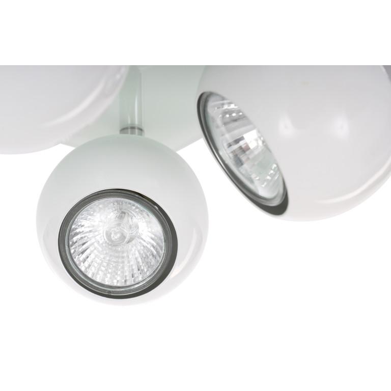 MATT-4R biała+chrom lampa b/ż