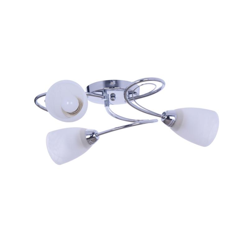 MELANIA-3 chrom lampa sufit żyrandol