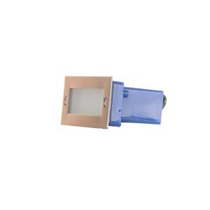 NICK inox lampa podtynkowa LED 1,2W IP44