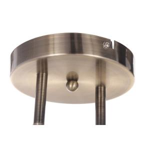 NILA-2 antyczny mosiądz lampa  sufit żyrandol